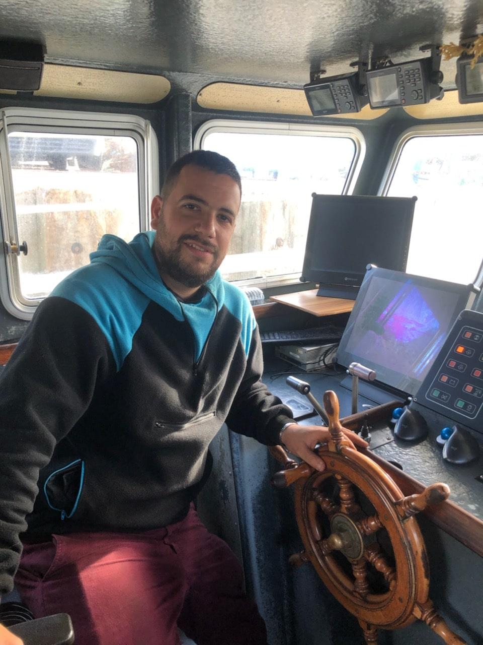 Julien-membre équipage de la Persévérance-Capitaine