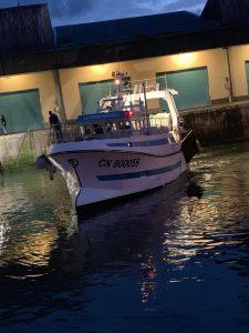 le bateau la persévérance dans le port