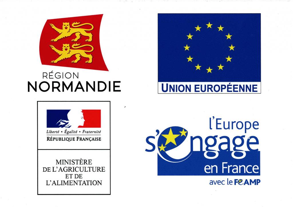Logo de la région Normandie et de l'union européenne